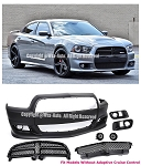 AEI -  SRT8 Style Front Bumper Conversion - Dodge Charger 2011-2014