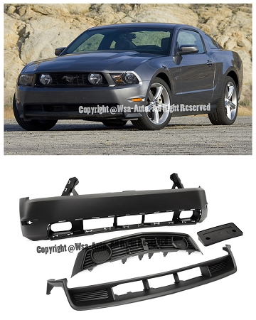 Aei Gt Style Front Bumper Conversion Ford Mustang 2010