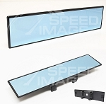 AeroWerks - Rear View Mirror - 300mm - Flat - Blue Tint