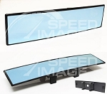 AeroWerks - Rear View Mirror - 300mm - Convex Curved - Blue Tint