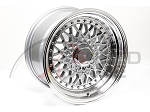 BB USA - BBS RS Style Wheels - 15x8 +20 4x100 67.1 Hub - Silver - Set of 4 Wheels
