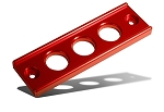 Blox Racing - Billet Battery Tie Down - Honda Civic 1992-2000 / Acura Integra 1994-2001 - Red