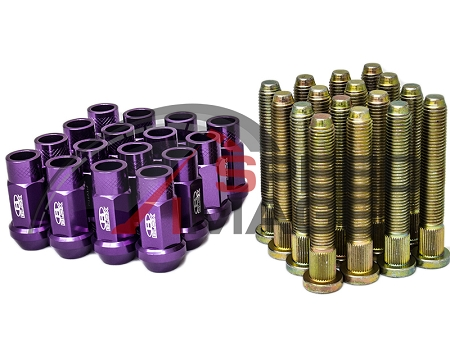 BLOX RACING EXTENDED WHEEL STUDS 12X1.5MM SET OF 16