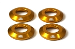 Blox Racing - Rear Differential Collar Kit - Honda S2000 2000-2009 - Gold