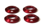 Blox Racing - Rear Differential Collar Kit - Honda S2000 2000-2009 - Red