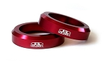 Blox Racing - Engine Mount Rings - Honda S2000 2000-2009 - Red