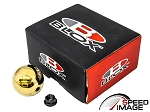 Blox Racing - Limited 490 Spherical Round Shift Knob - 10x1.25mm (Mazda, Mitsubishi, Nissan) - Gold
