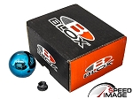 Blox Racing - Limited 490 Spherical Round Shift Knob - 10x1.25mm (Mazda, Mitsubishi, Nissan) - Electric Torch Blue