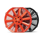 Blox Racing - 10 Inch Electric Slim Fan For Radiator - Red