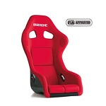 BRIDE - Zeta III Plus Racing Seat (HANS device compatible) - Red