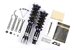 D2 Racing - RS Height & 36 Way Dampening Adjustable Coilovers - Fiat 500 2007-2012