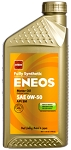 Eneos - Fully Synthetic Engine Motor Oil - 0W-50 - Case of 6 x1 Quart Bottles