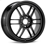 Enkei - Racing Series - RPF1 Wheel - 18x9.5 +38mm 5x100 73 Hub - Black - Tarmac Black Edition