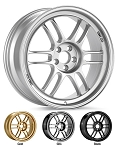 Enkei - Racing Series - RPF1 Wheel - 14x7 +28mm 4x100 54 Hub - Silver