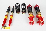 Function Form - Type 2 - Height Adjustable 32 Way Dampening Coilovers - Honda Civic 2012-2013 Including SI & 2014 Non-SI