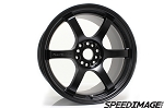 Gram Lights 57DR - 18x8.5 +37 5x100 - Semi Gloss Black