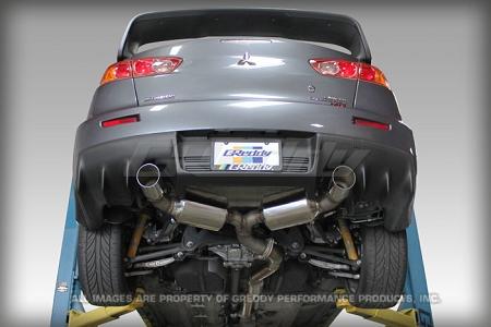 Greddy Evo3 Cat Back Exhaust System Mitsubishi Lancer