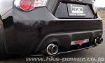 HKS - Hi-Power Spec-L - Cat-Back Exhaust System  - Scion FR-S/Subaru BRZ 2013-2015