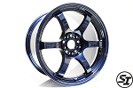 Gram Lights - 57DR - 18x9.5 +22 5x114.3 - Mag Blue