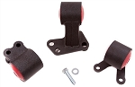 Innovative Mounts - Steel Replacement Mount Kit - B and D Series Engine with Hydraulic Transmission Auto to Manual - Honda Civic 1992-1995 3 Bolt