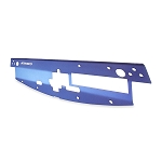 Mishimoto - Aluminum Air Diversion Plate - Mitsubishi Lancer Evolution 2001-2007 - Blue Finish