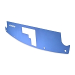 Mishimoto - Aluminum Air Diversion Plate - Nissan 350Z 2003-2008 - Blue Finish