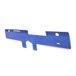Mishimoto - Aluminum Air Diversion Plate - Subaru WRX 2001-2005 - Blue Finish