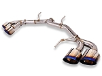 MXP - Straight Type Cat-Back Exhaust System - Nissan GT-R 2008-2015