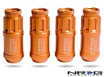 NRG - 700 Series Extended Lug Nut Locks - 12x1.25MM - Set of 4 - Rose Gold