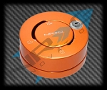 NRG - Steering Wheel Quick Release Lock - Orange
