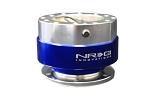 NRG - Steeing Wheel Quick Release Generation 1.0 - Silver Body with Blue Ring