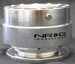 NRG - Steeing Wheel Quick Release Generation 1.0 - Silver Body with Silver Ring