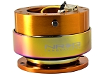 NRG - Steeing Wheel Quick Release Generation 2.0 - Rose Gold Body with Neo Chrome Ring