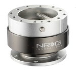 NRG - Steeing Wheel Quick Release Generation 2.0 - Silver Body with Titanium Chrome Ring