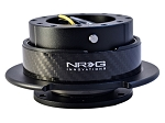 NRG - Steeing Wheel Quick Release Generation 2.5 - Black Body and Carbon Fiber Ring