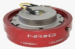 NRG - Steering Wheel Thin Quick Release - Red