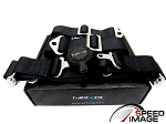 NRG - 4 Point 2 Inch Cam Lock Safety Seat Belt Harness - Black - For One Seat