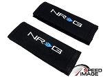 NRG - Safety Seat Belt Harness Pads - Black - For One Seat