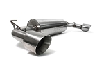 Perrin - 2.5 Inch Cat Back Exhaust System - Scion FR-S / Subaru BRZ 2013-2014 - w/Out Resonator