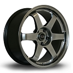 Rota Wheels - Grid - 18x8.5 +42mm 5x108 73.1 Hub - Hyperblack - Each