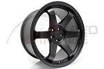 Rota Wheels - Grid - 18x9.5 +38mm 5x100 73.1 Hub - Flat Black - Set of 4 Wheels
