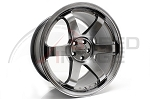 Rota Wheels - Grid - 18x9.5 +38mm 5x100 73.1 Hub - Hyper Black - Set of 4 Wheels