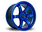 Rota Wheels - Grid - 18x9.5 +38mm 5x114.3 73.1 Hub - Hyperblue - Set of 4 Wheels