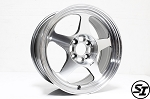 Rota Wheels - Slipstream - 16x7 +40mm 4x100 67.1 Hub - Polish - Set Of Four