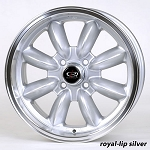 Rota Wheels - RB - 15x7 +12mm 4x114.3 73 Hub - Set of 4 Wheels