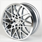 Rotiform - BLQ - 19x8.5 +45 5x112 - Silver Machined