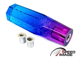SI - Crystal Bubble JDM Style Shift Knob - 150MM Diamond Top - Multi Color Blue