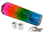 SI - Crystal Bubble JDM Style Shift Knob - 150MM Diamond Top - Multi Color Clear Rainbow
