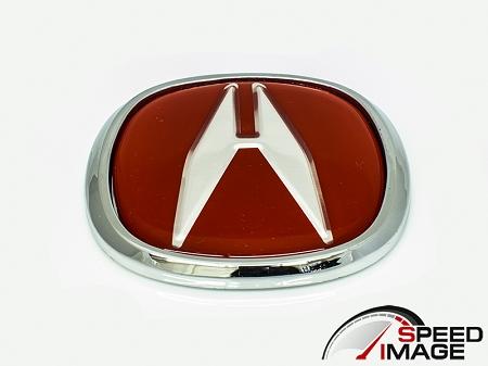 SI Universal Acura Emblem Cm X Cm Red - Red acura emblem