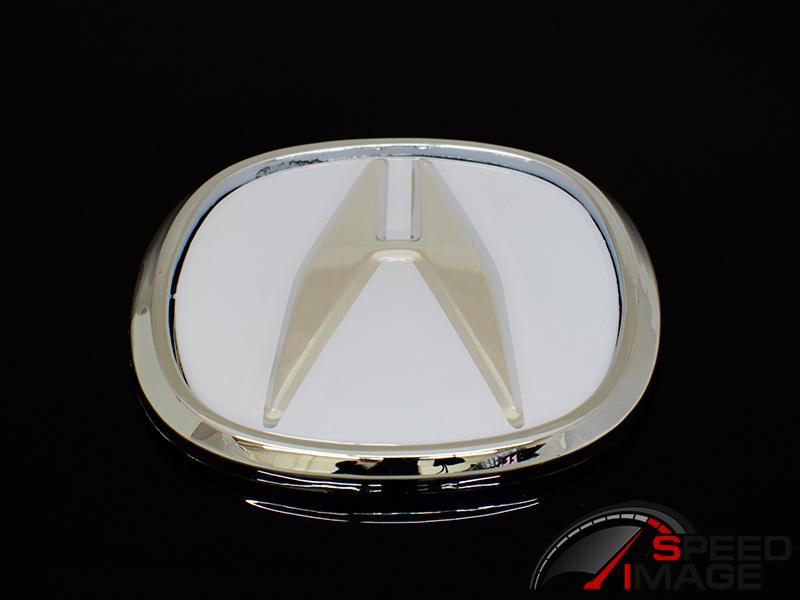 SI Universal Acura Emblem Cm X Cm White - Acura badge